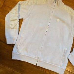 French Connection zip up knit sweater.